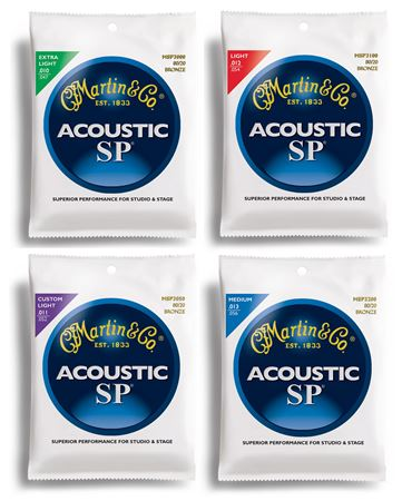 Martin SP 80/20 Bronze Acoustic Guitar Strings