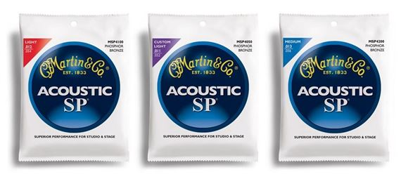 Martin SP Phosphor Bronze Acoustic Guitar Strings