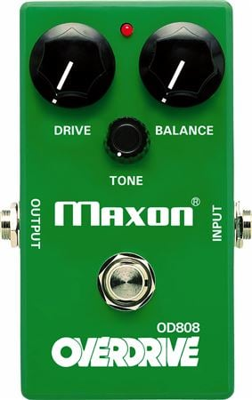 Maxon OD808 Overdrive Guitar Effects Pedal