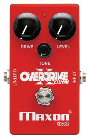 Maxon OD808X Overdrive Extreme Pedal