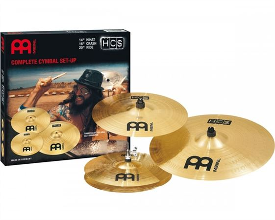 Meinl Percussion HCS Complete Cymbal Set
