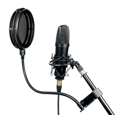Middle Atlantic PFSS Split Screen Pop Filter