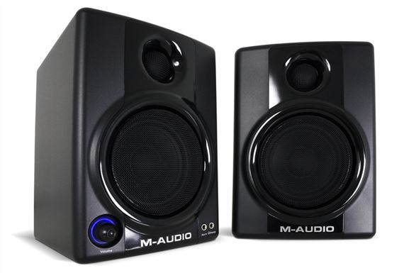 M Audio Studiophile AV30 Desktop Powered Studio Monitors