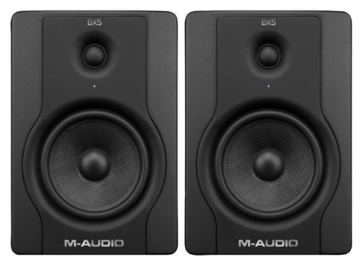 M Audio BX5 D2 Powered Studio Monitors