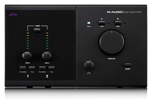 M-Audio Fast Track C400 USB Audio Interface