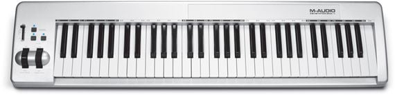 M Audio Keystation 61es 61 Key USB MIDI Controller Keyboard