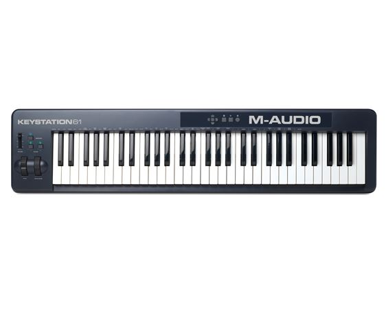 M Audio Keystation 61 61 Key USB MIDI Controller Keyboard