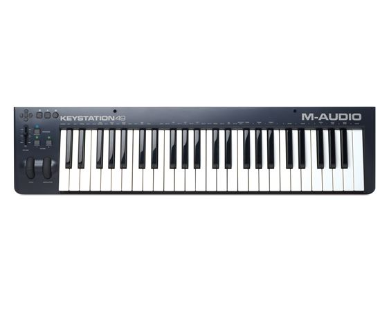 M Audio Keystation 49 49 Key USB MIDI Controller Keyboard