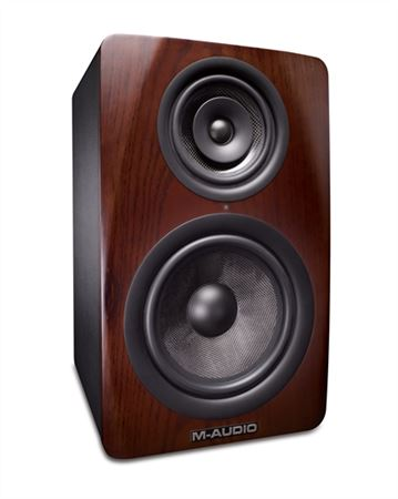 M Audio M38 8 Inch Three Way Powered Studio Monitor