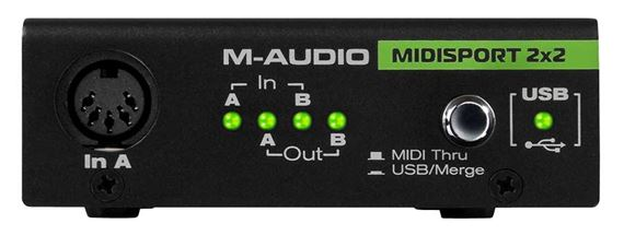 M Audio MIDISPORT 2x2 Anniversary USB Midi Interface