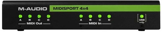 M Audio MIDISPORT 4x4 Anniversary USB Midi Interface