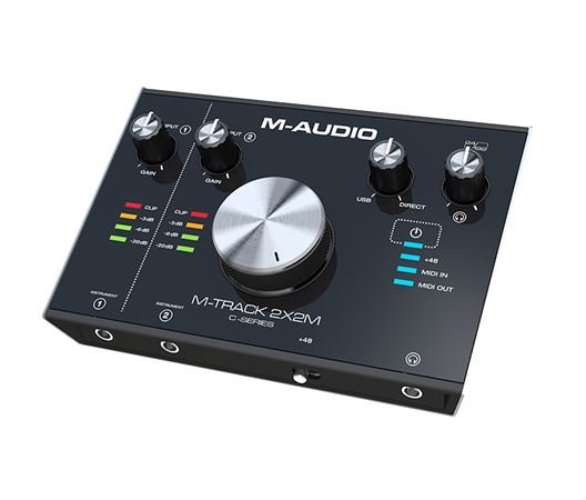 M Audio M-Track 2X2M USB Audio/MIDI Interface