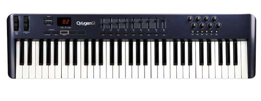 M Audio Oxygen 61 V3 61 Key Controller Keyboard