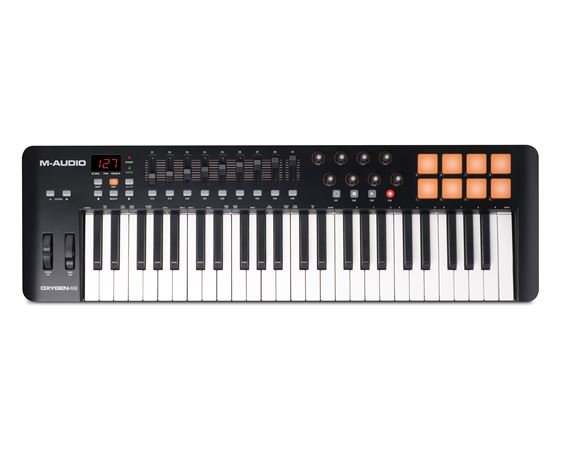 M Audio Oxygen 49 Key USB MIDI Controller Keyboard