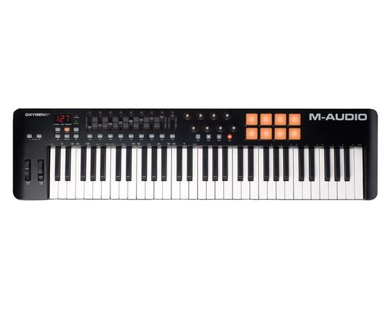 M Audio Oxygen 61 Key USB MIDI Controller Keyboard