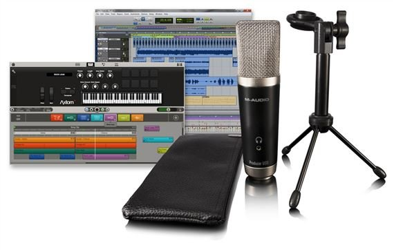 M Audio Vocal Studio USB Microphone with Software