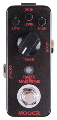 Mooer Micro Rage Machine Distortion Guitar Effects Pedal