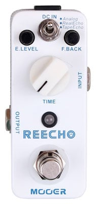 Mooer Micro Reecho Delay Guitar Effects Pedal