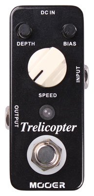 Mooer Micro Trelicopter Tremolo Guitar Effects Pedal