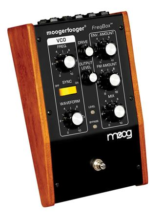 Moog MF107 MoogerFooger FreqBox Synthesizer Pedal