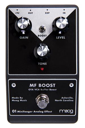 Moog MF Boost Minifooger Boost Guitar Effect Pedal
