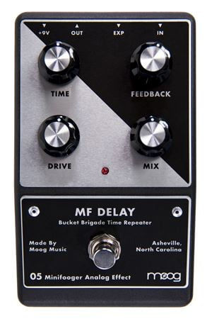 Moog MF Delay Minifooger Delay Guitar Effect Pedal