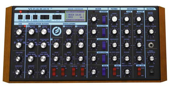 Moog MiniMoog Voyager Rack Mount Analog Synthesizer Module