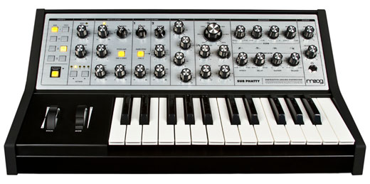 Moog Sub Phatty Analog Keyboard Synthesizer