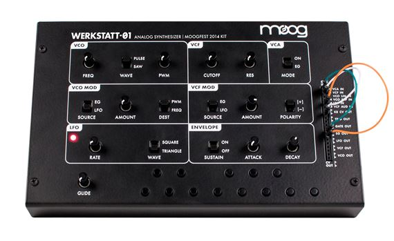 Moog Werkstatt01 Analog Synthesizer Kit