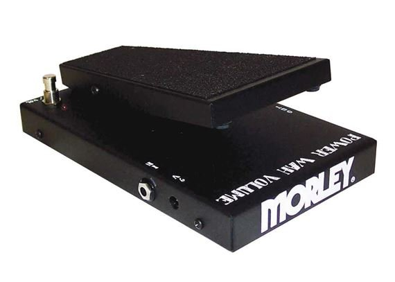 Morley PWOV Power Wah Pedal with Optical Volume
