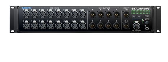 MOTU Stage B16 16 Input USB Audio Interface with DSP