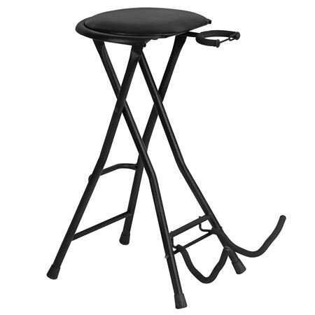 On Stage Stands DT7500 Guitarist Stool with Footrest
