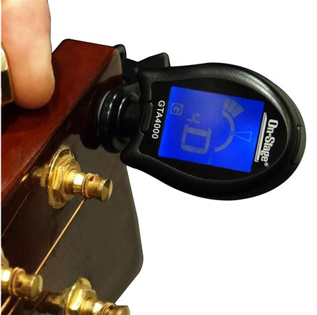 On Stage GTA4000 Clip On Chromatic Tuner with Multi Instrument Modes