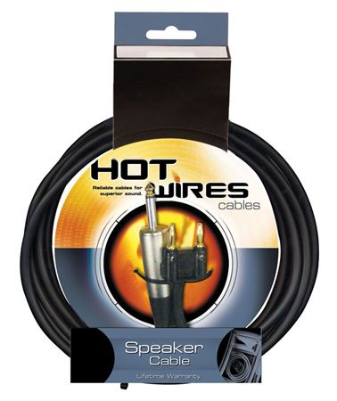 Hot Wires Banana to 1/4 Inch Speaker Cables