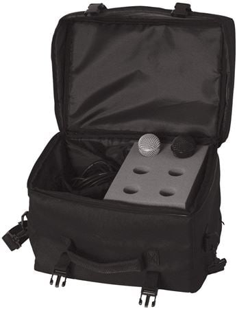 On Stage MB7006 6 Space Microphone Carry Bag