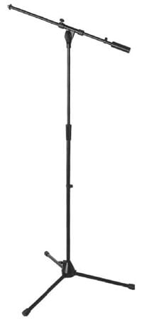 On Stage 9701B Plus Pro Black Tripod Microphone Boom Stand
