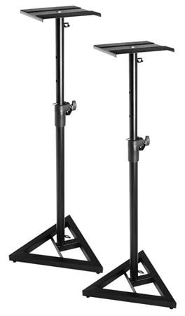 On Stage SMS6000 Studio Monitor Stands Pair