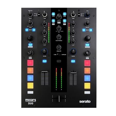 Mixars DUO Professional DJ Mixer for Serato