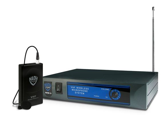 Nady DKW3 LT VHF Lapel Wireless Microphone System