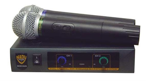Nady DKW Duo VHF Handheld Wireless Microphone System
