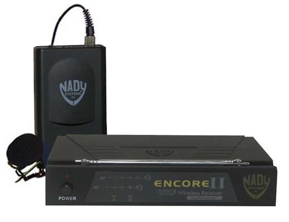Nady Encore II VHF Lapel Wireless Microphone System