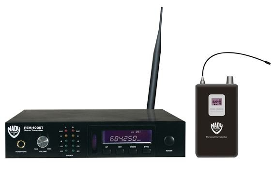 Nady PEM1000 UHF Wireless In-Ear Monitor System