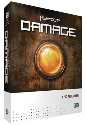 Native Instruments Damage Virtual Instrument Software