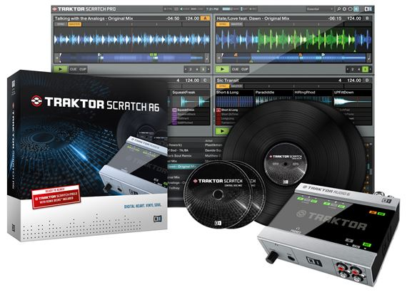 Native Instruments Traktor Scratch Audio 6 Digital DJ System