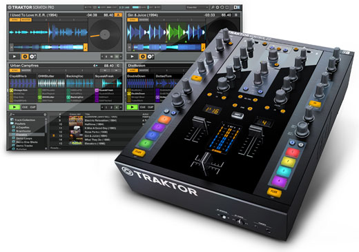 Native Instruments Traktor Kontrol Z2 DJ Mixer and Audio Interface