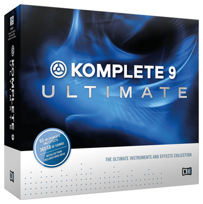 Native Instruments Komplete 9 Ultimate Software Suite