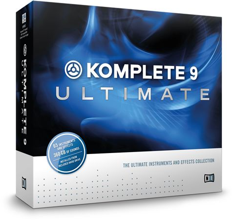 Native Instruments Komplete 9 Ultimate Upgrade from Versions 2-8