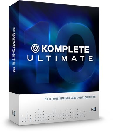 Native Instruments Komplete 10 Ultimate Upgrade from Komplete 10
