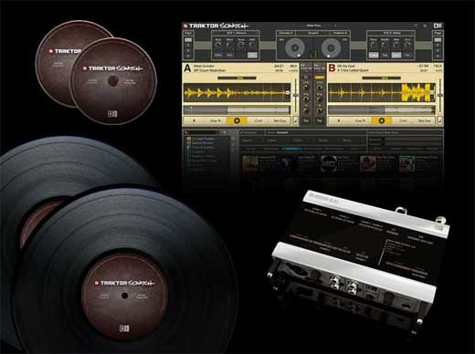Native Instruments Traktor Scratch DJ Software and Interface