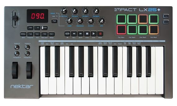 Nektar Impact LX25 Plus 25 Key USB Keyboard Controller